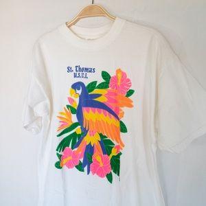 Vintage Neon Resort T-Shirt | St. Thomas U.S.V.I
